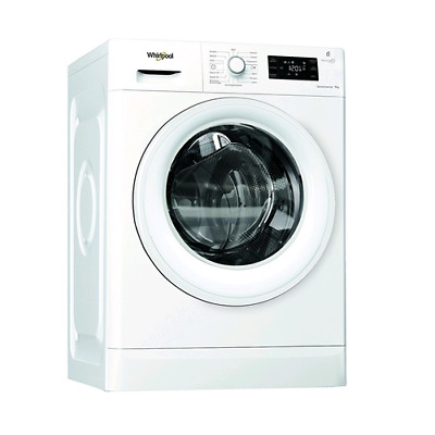 Whirlpool Fwg91284Wit Lavatrice Carica Frontale 9Kg Classe A+++ Centrifuga 1200