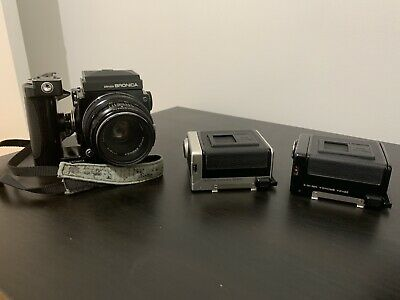 Zenza Bronica etrs With 2 Film Back Holders