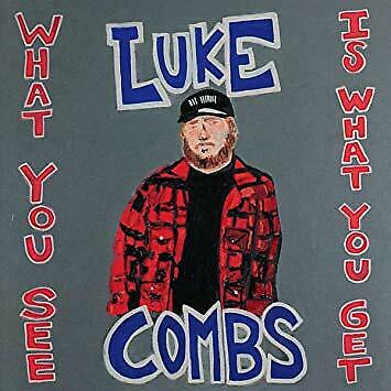 Luke Combs - What You See Is What You Get (CD) Brand New, Factory Sealed!!