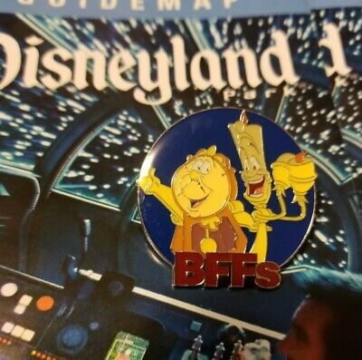 BFFs Mystery Collection Cogsworth Lumiere Disney Pin 120515