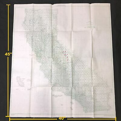 YUBA CITY MARYSVILLE California Vintage USGS Topo Map 1911
