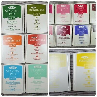 DISCONTINUED Stampin Up! CRAFT Foam Ink Pads Juicy Highly Pigmented CHOOSE COLOR