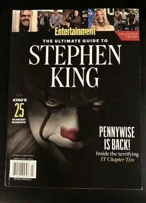Entertainment Weekly: The Ultimate Guide To STEPHEN KING (New 2019)
