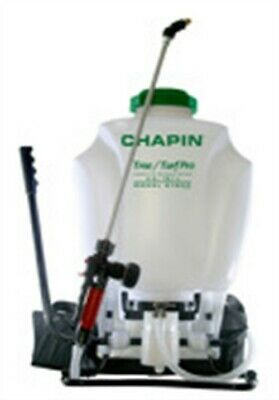 Chapin 61900 4 Gallon Tree & Turf Pro Commercial Backpack Sprayer With Stainless