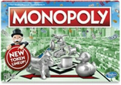 Monopoly C1009 Classic Monopoly Board Game With New Token Line Up