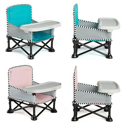 Portable Folding Baby Infant Toddler Chair Feeding Table Booster Travel Seat