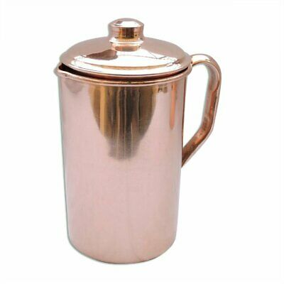 Handicraft Pure Copper Water Jug Copper For Ayurveda Health Benefit Smooth
