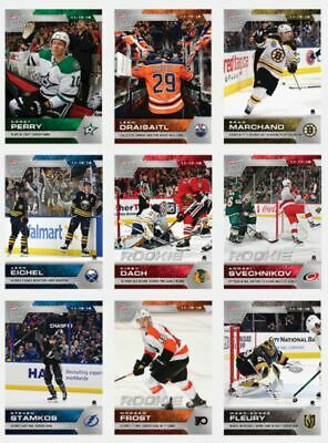 NHL Hockey 2019-20 Topps NOW 9 Sticker Pack Week 7