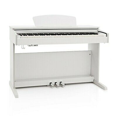 DP-10X Digital Piano by Gear4music, White-DAMAGED- RRP £379.99