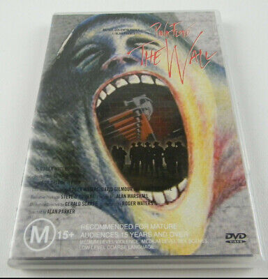 Pink Floyd - The Wall - DVD PAL with Poster