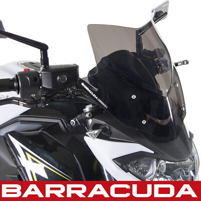 Barracuda Kawasaki Z650 Sports Screen Black Windshield 2017 2018 2019