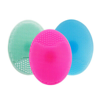 2X Silicone Wash Pad Face Exfoliating Blackhead Facial Cleansing Brush Tools
