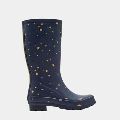Joules Roll Up Welly Star Gazing 204266 STARGAZE
