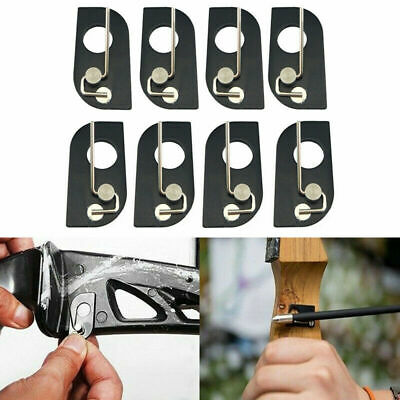 Archery Magnetic Arrow Rest Recurve Bow Shoot Hunting Right/Left Hand Black