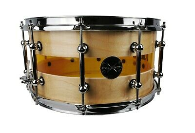 """Wood/Acrylic Hybrid Acoustic Snare Drum 14""""x6.5"""""""