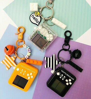 Handheld game console Name Keychain / Handbag Charms / Bag Accessories