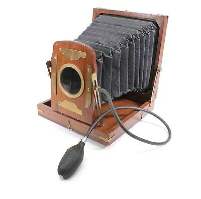 Reproduction Vintage Field View Bellows Camera Housing For Decoration Decor