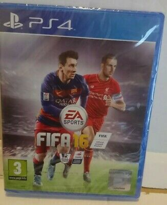 Playstation 4 brand NEW SEALED Game FIFA 16 FOOTBALL  PS4