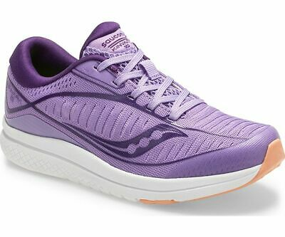 Saucony Big Kids Kinvara 10 Sneakers Purple White Wide Running Shoes SK162194