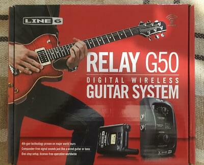 Line 6 Relay G50 Digital Guitar Wireless System with Pro-Stompbox Receiver...