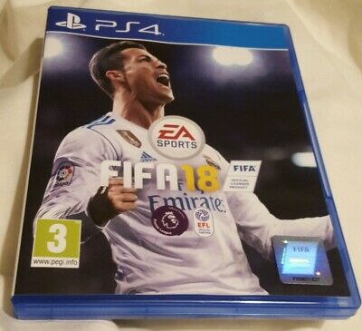 FIFA 18 PlayStation 4 football game ps4 premier league