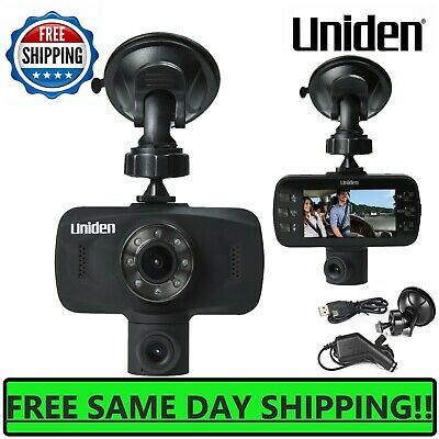 Uniden Dash Cam 1080P HD Dual Camera Front And Rear View Cars Mount Video Record