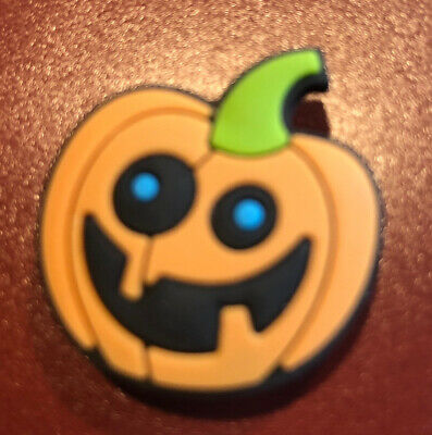 Pumpkin Croc shoe Charm Jibbitz Jewelry Fun