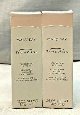 Mary Kay TimeWise Age Fighting Lip Primer, .05 Oz Lot of 2