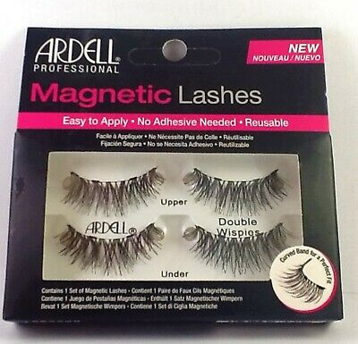 Ardell Magnetic Reusable False Eyelashes DOUBLE WISPIES NEW FREE SHIPPING!!!!