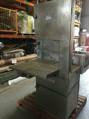 Butcherquip Meat Bandsaw - Butcher Band saw - Missing Parts - 3 Phase Powers On