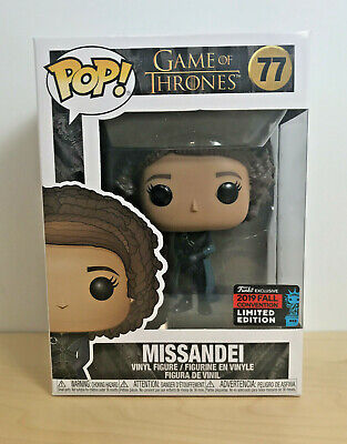 Funko Pop! #77 Game of Thrones - Missandei 2019 NYCC Exclusive - In Hand