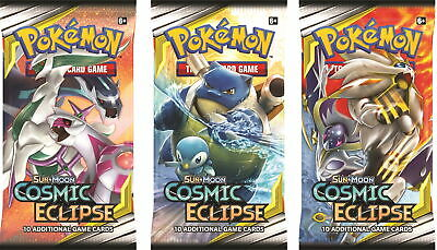 Pokemon Sun and Moon S&M12 Cosmic Eclipse Booster Pack