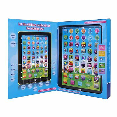 Baby Toddler Kids Learning Tablet Educational Toys 1-6 Years Educational iPad