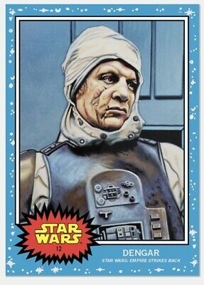 Topps Star Wars Living Set Card #12 Dengar PR: 1,641