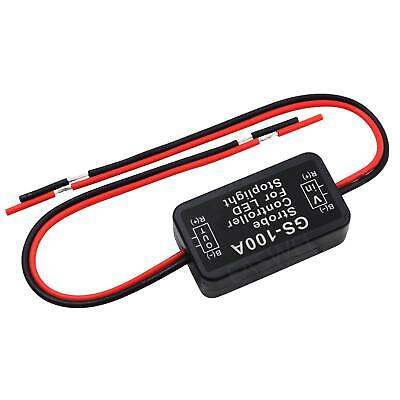 GS-100A/LED Brake Stop Light Strobe Flash Module Controller Box For Car Vehi LD