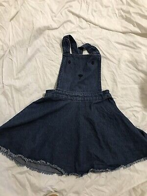 Seed Denim Pinafore