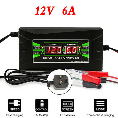 Inteligent 5 Stage Smart Automatic Battery Charger for VW Transporter