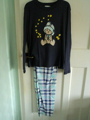 Ladies long sleeve and long leg  pyjamas size 10  12  14  16  18
