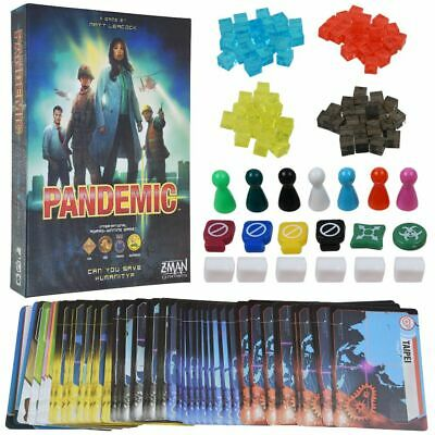 For Z-Man Games Pandemic Board Game Role Cards