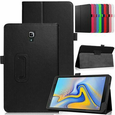 Samsung Galaxy Tab A 10.5 - T590 T595 Leather Tablet Stand Smart Cover Case