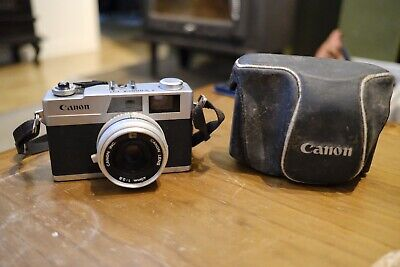 Canon Film Camera Canonet 28 Fixed 40mm Lens Rangefinder 35mm Film With Case