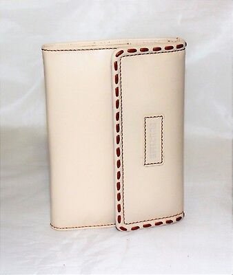Cover Genuine Leather for Agenda Beige Port Weave Woman from Bag Cover