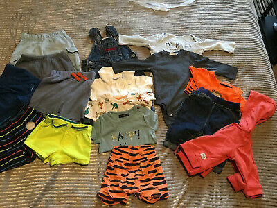 Boys 3-6 Months Bundle X 16 Piece Bottoms And Tops
