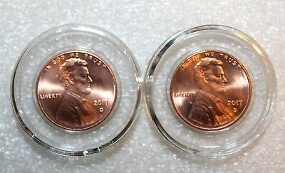 50 Air-Tite Holders A19 Coin Capsules for US Cent 1858-present