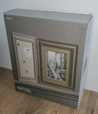 Next Wooden Hinged Memo Frame New In Box