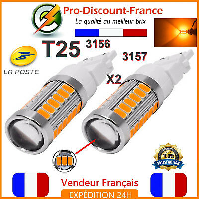 8115 2 x T20 3157 4057 5050 SMD 27 reines Weiß LED Auto Beleuchtung LED Lampe