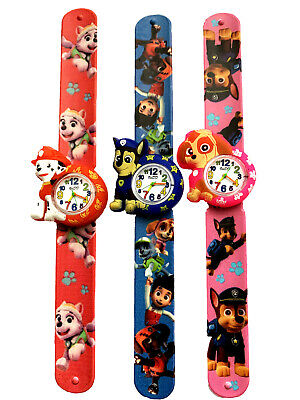PAW PATROL / KIDS  Snap / Slap Watch for Boys and Girls  Gift