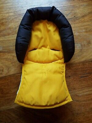 Maxi Cosi car seat head support head hugger newborn wedge yellow