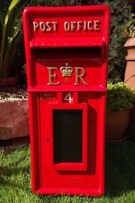 Genuine Vintage Post Office Pillar Box Red Letter Box Gpo Origins Now Royal Mail