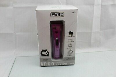 Wahl Professional Animal ARCO Cordless Dog and Pet Clipper Kit Purple 8786-1001